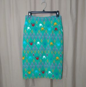 Lularoe Minnie Mouse Cassie pencil skirt